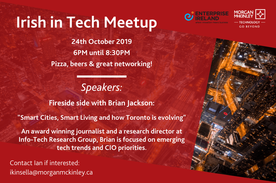 Irish in Tech Networking Event