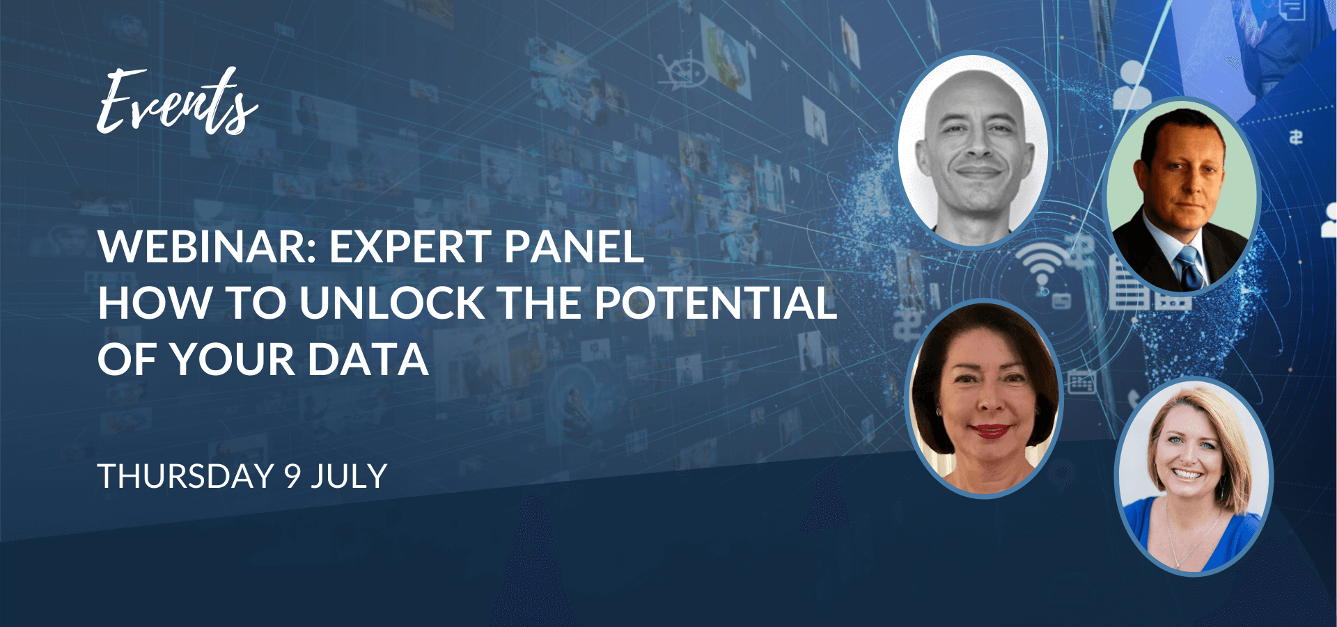 Webinar: Expert Panel: How to Unlock The Potential of Your Data
