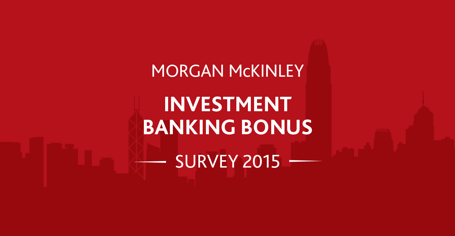 Investment Banking Bonus Survey