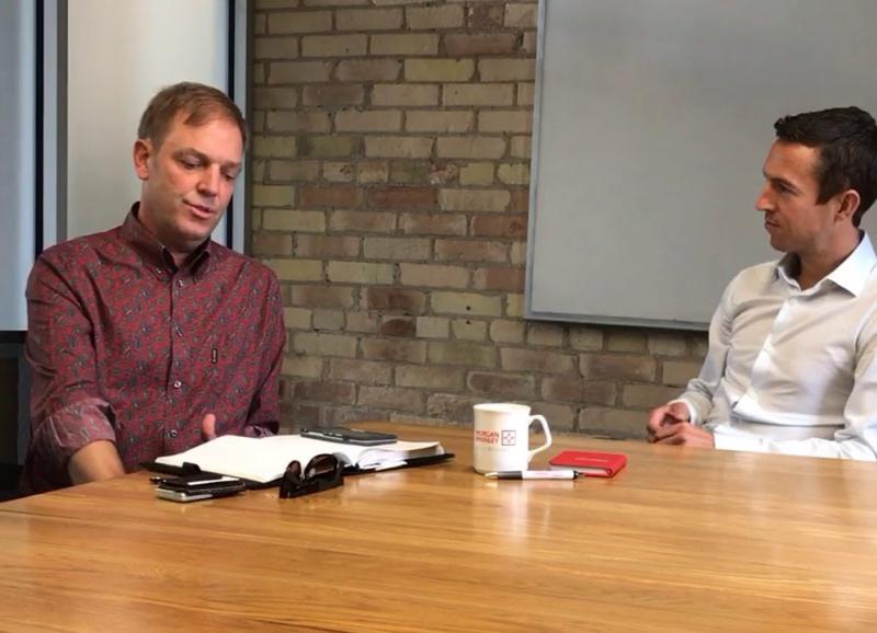 James Rodmell  on the VR Scene in Toronto | #MorganMcKinleyTechnology