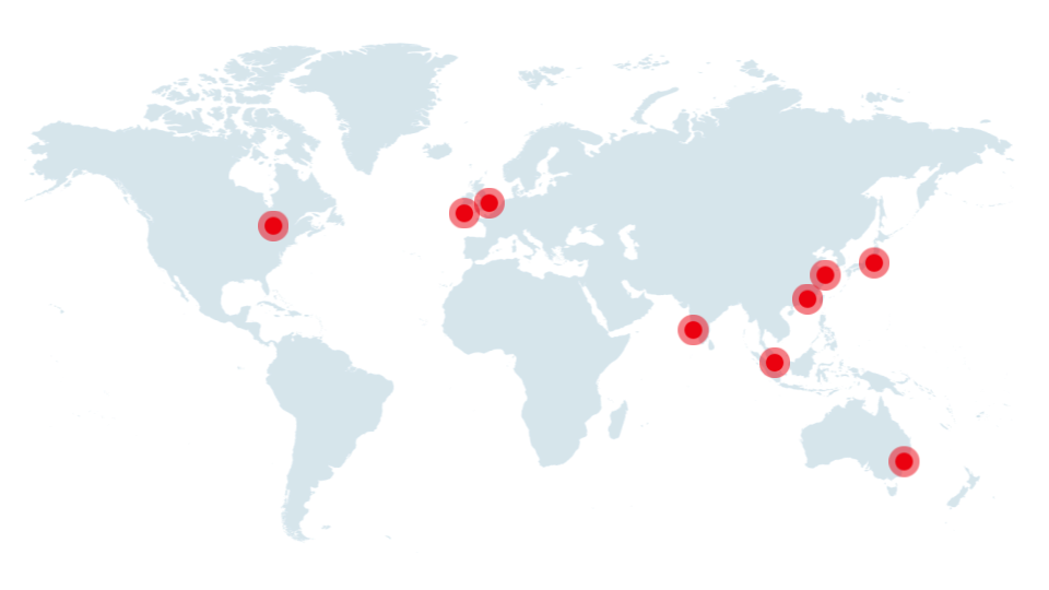 Morgan McKinley Global Office Locations