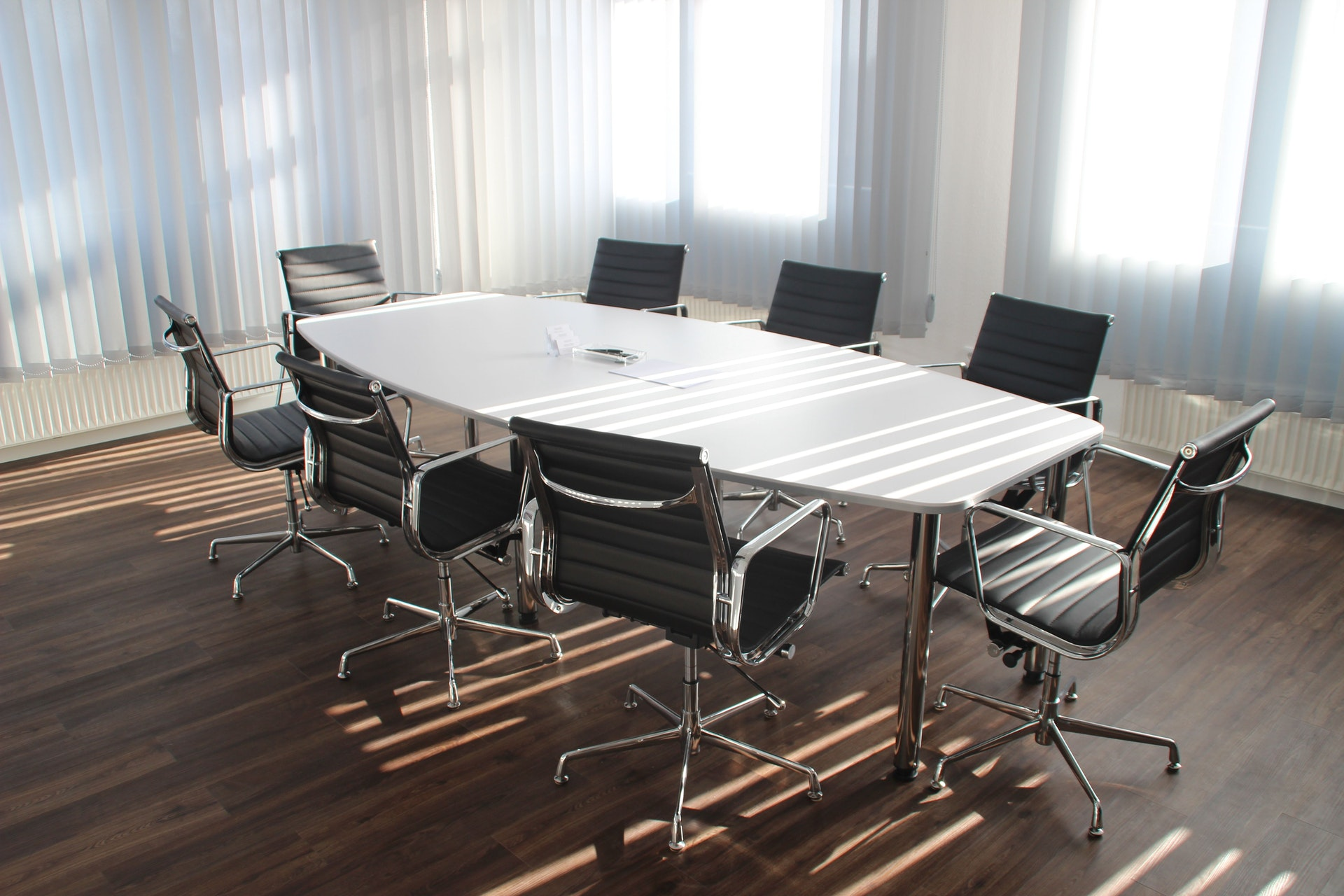 Book a meeting room for your interview