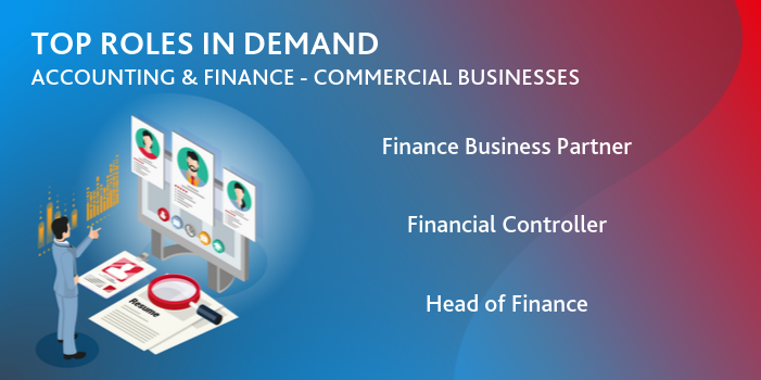 Accounting & Finance (Commercial Businesses) recruitment trends